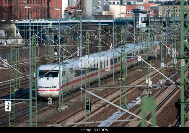 Intercity Express, ICE1 - Stock-Bilder
