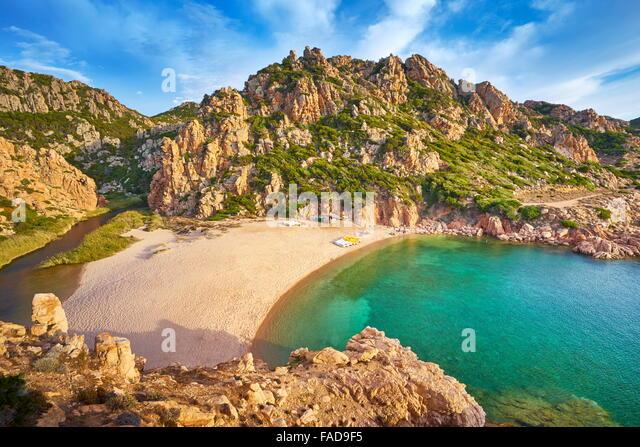 Sardinia - Costa Paradiso Beach, Italy - Stock Image