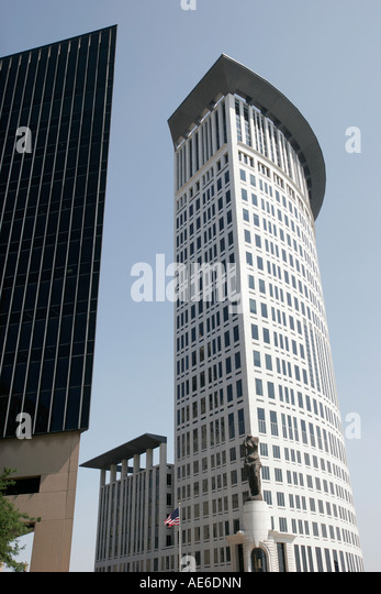 Cleveland Ohio Federal Courthouse architecture - Stock Image
