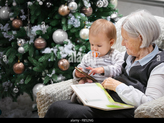 grandma reading grandson stock photos  u0026 grandma reading