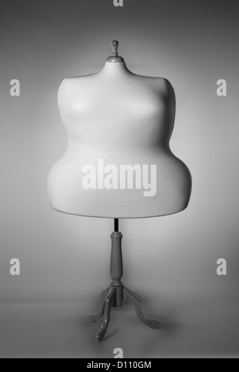 Obese Mannequin - Stock Image