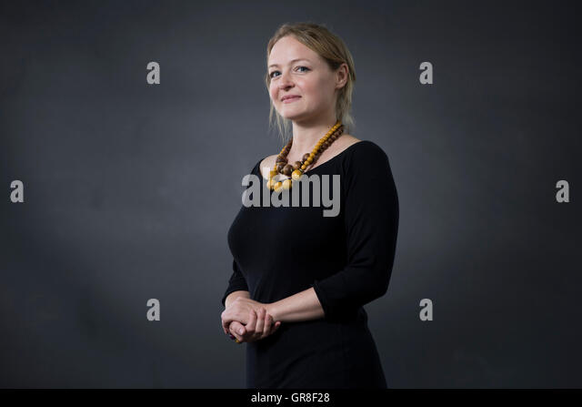 Author Lucy Ribchester. - Stock Image