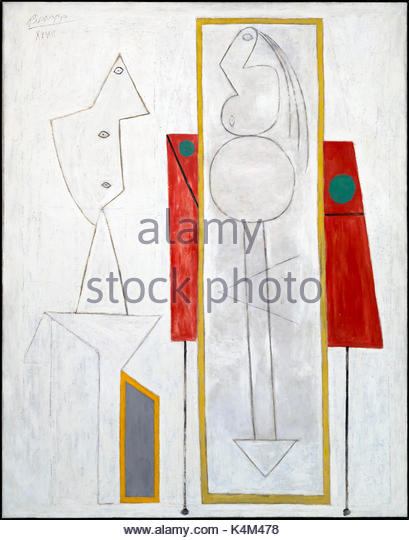 The Studio, by Pablo Picasso, 1928, Peggy  Guggenheim Collection, Venice, Italy, Europe - Stock Image