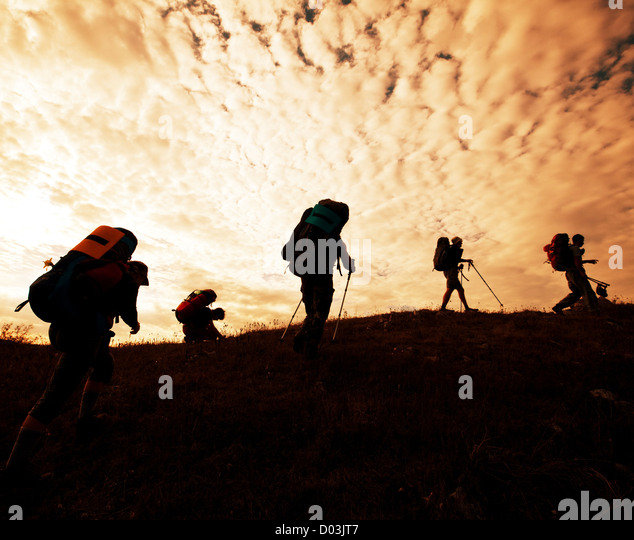 Hiking - Stock Image