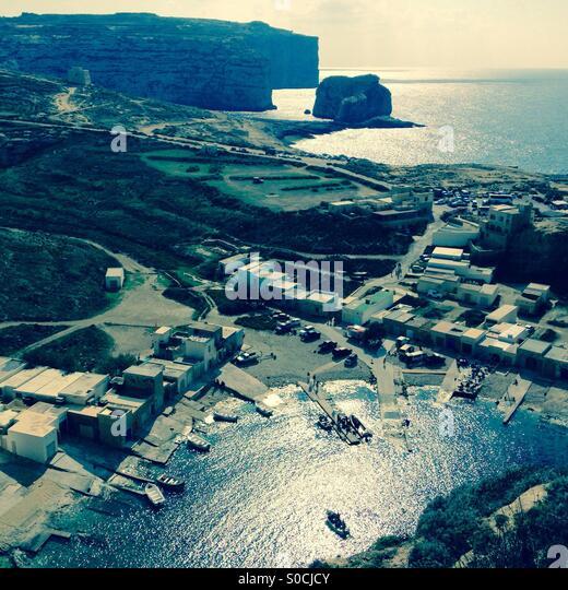 Gozo Inland Sea Divesite - Stock Image