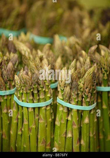 food, asparagus, - Stock Image