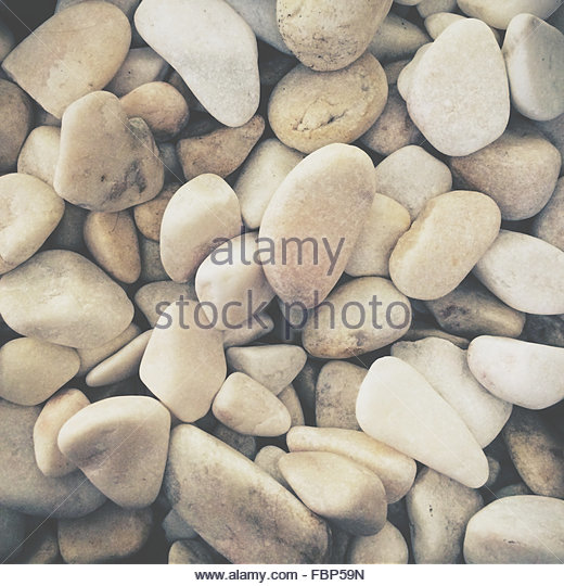 Full Frame Shot Of Pebbles - Stock-Bilder