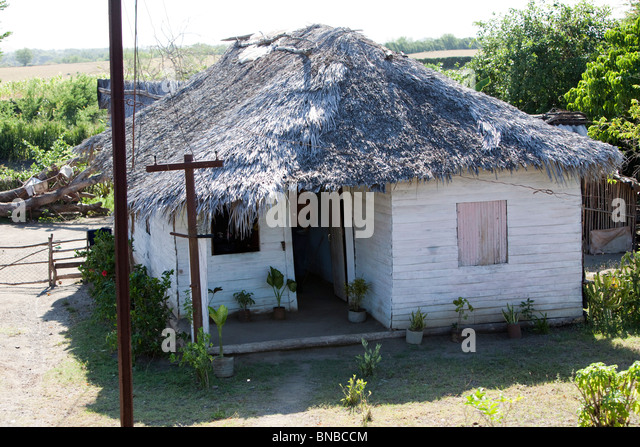 cuban house. - Stock Image