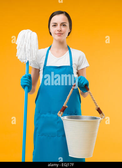 Janitorial Worker Stock Photos Janitorial Worker Stock