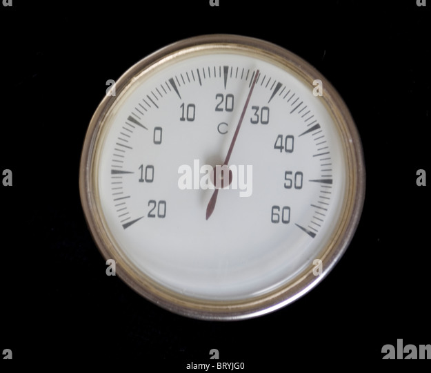 Thermometer Celsius scale - Stock Image