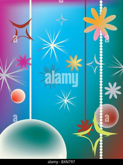 Christmas design - Stock Image