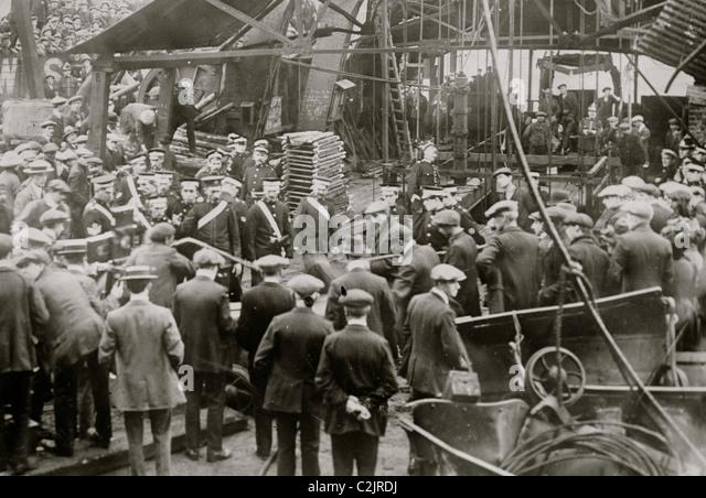 Cardiff Mine Disaster - Stock-Bilder