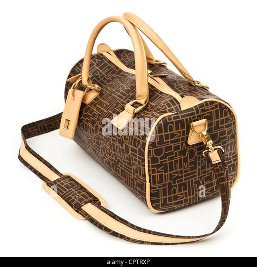Diane von Furstenberg designer travel bag / luggage - Stock-Bilder