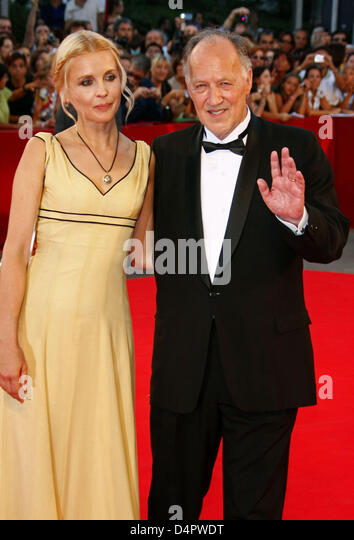 Werner Herzog Wife Lena Stock Photos   Director Werner Herzog Wife