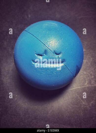 Blissful stress ball - Stock-Bilder