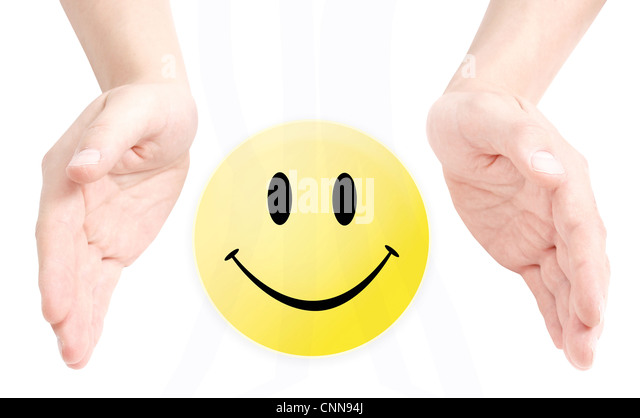 Smiley - Stock Image