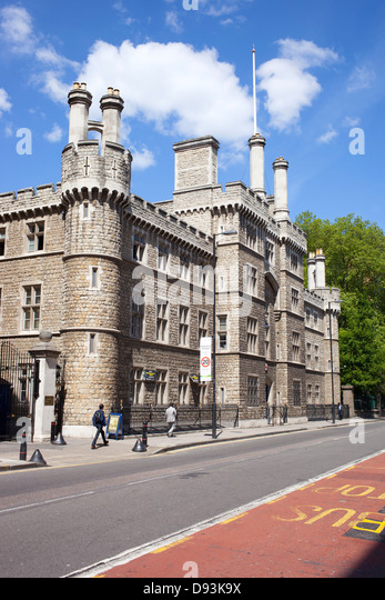 Armoury House, Honourable Artillery Company (HAC) building. City Road London UK - Stock Image