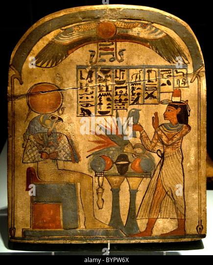 Museum Egypt Antiquity Pharaoh god goddess culture - Stock Image