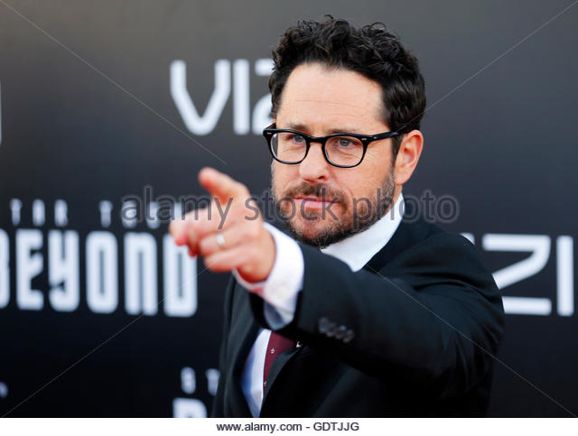 "Producer J.J. Abrahms arrives for the world premiere of ""Star Trek Beyond"" at Comic Con in San Diego, - Stock Image"