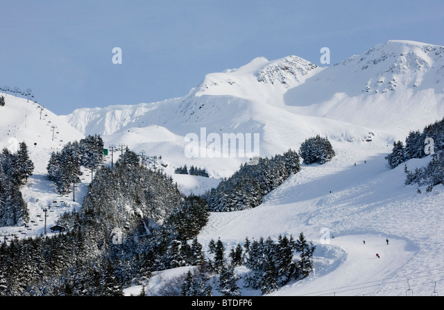 Girdwood alaska winter stock photos girdwood alaska for Chair 7 alyeska