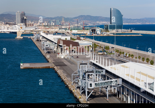 Port of Barcelona, Catalonia, Spain, Europe - Stock Image