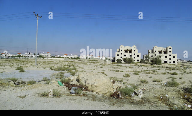 Jericho in the West Bank; Palestine. - Stock Image