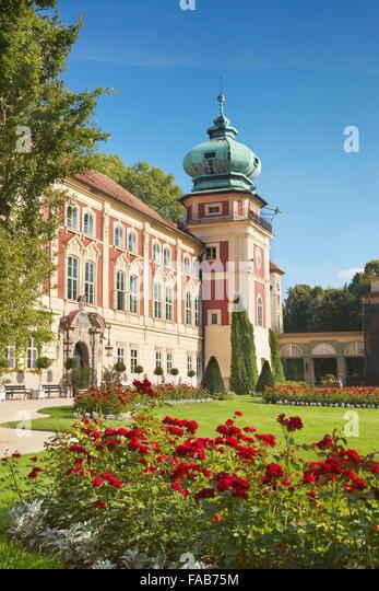 Lancut - the Royal Castle, Poland - Stock-Bilder