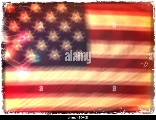 American Flag. - Stock Image