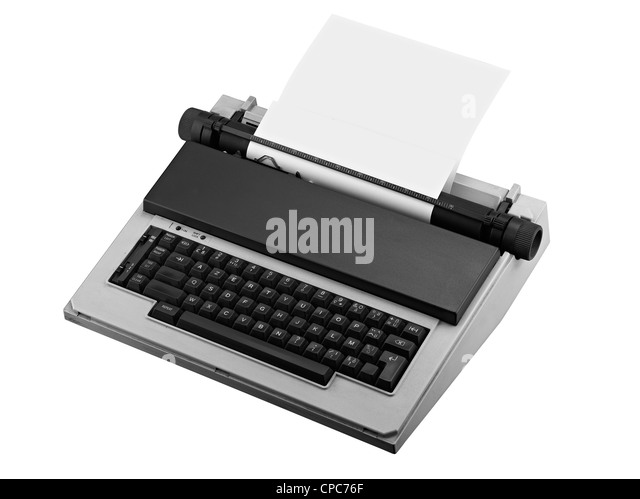 closing a letter type writer black and white stock photos amp images alamy 46796