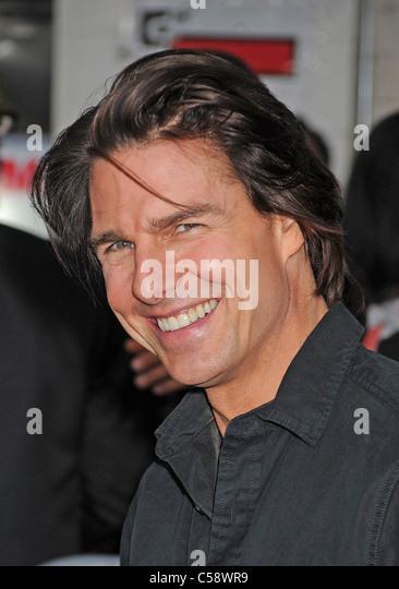 TOM CRUISE  US film actor in June 2011. Photo Jeffrey Mayer - Stock-Bilder