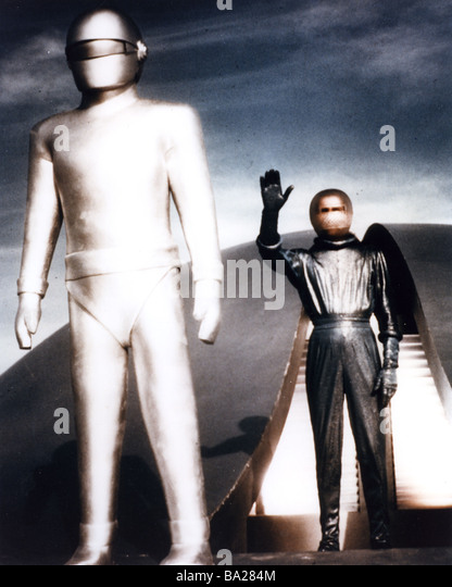 THE DAY THE EARTH STOOD STILL  1951 TCF film - Stock Image