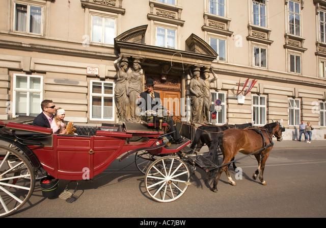 Vienna Fiaker - Stock Image