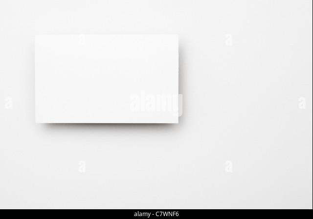 Blank business card. - Stock-Bilder
