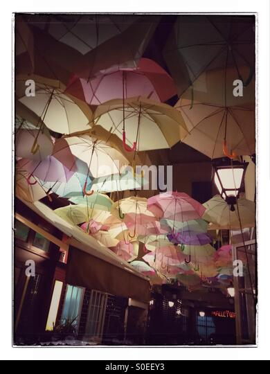 Umbrellas Beirut - Stock Image
