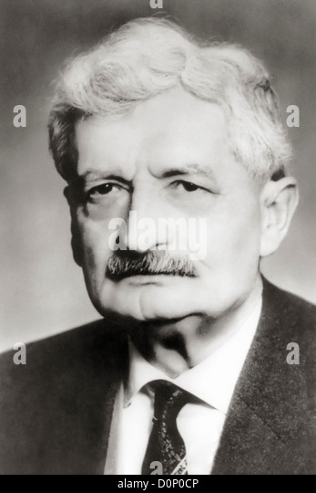 Hermann Oberth - Stock Image