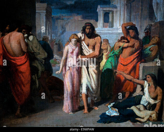 oedipus and antigone Oedipus and creon distinguished themselves from one another in the methods of their rule during his reign over thebes, oedipus is portrayed as a good leader who.