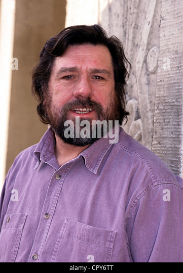 Tomlinson, Ricky (Eric), * 26.9.1939, English actor, portrait, 1997, full beard, - Stock Image