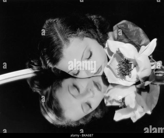 Sylvia Sidney American actress 1910 - 1999 Circa 1935 - Stock Image