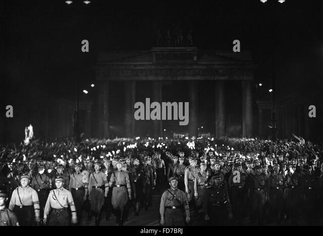 Moviestill from the film 'Horst Wessel', 1933 - Stock Image
