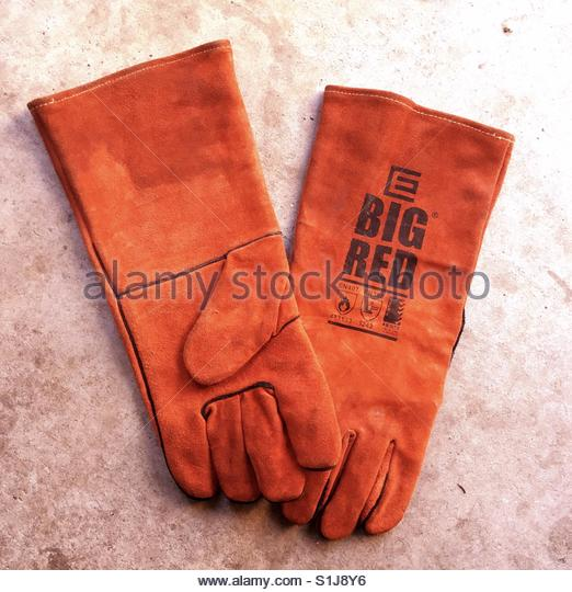 safety Gloves - Stock Image