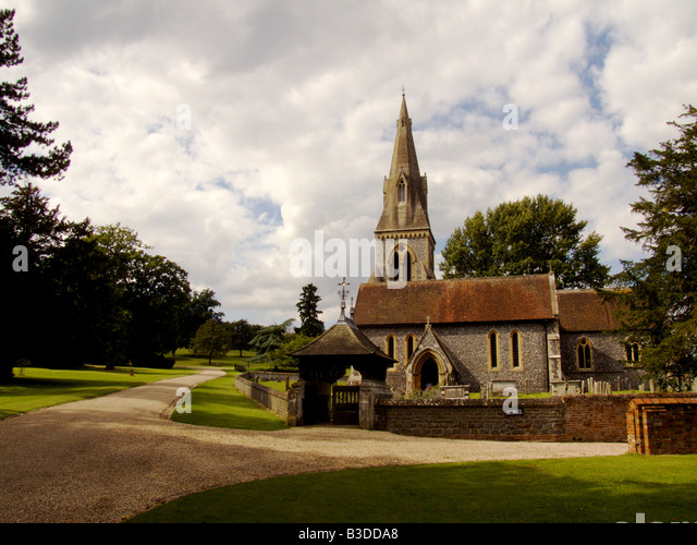Holy trinity church and berkshire stock photos holy St mark s church englefield