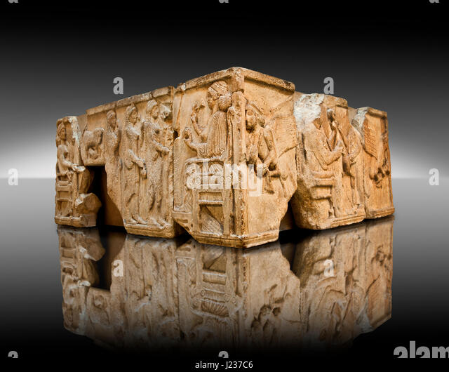 After ancient relief stock photos