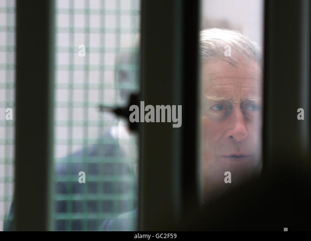 Prince of Wales visits Belmarsh Prison - Stock Image