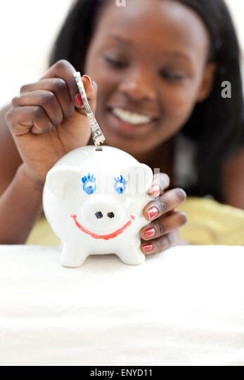 teen piggy bank stock photos teen piggy bank stock