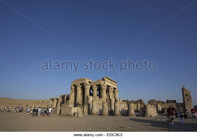 Com Ombo Temple, Egypt - Stock Image