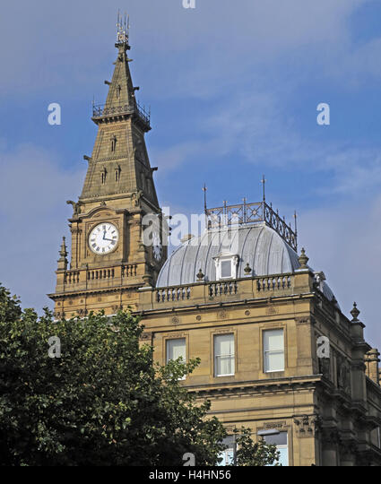 Municipal Council Buildings, Liverpool City Centre, Merseyside, England, UK - Stock Image