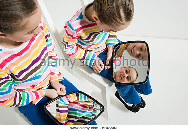 Identical twins stock photos identical twins stock for Mirror twins