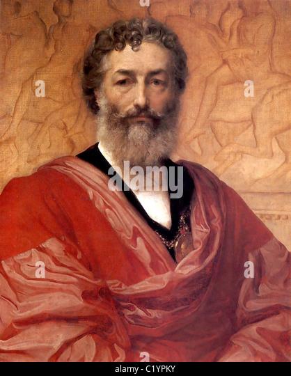 Frederic Leighton, 1st Baron Leighton, Lord Leighton - Stock Image