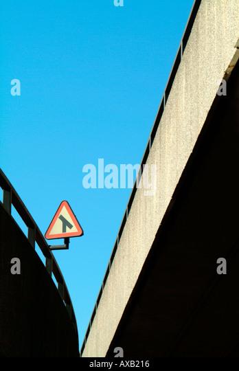 overhead road - Stock Image