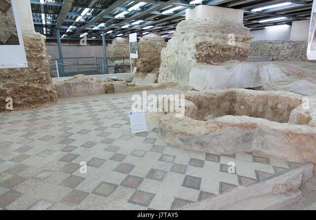 Museum Antiquarium of Porto Torres Museum Antiquarium of Porto Torres, province of Sassari - Stock Image